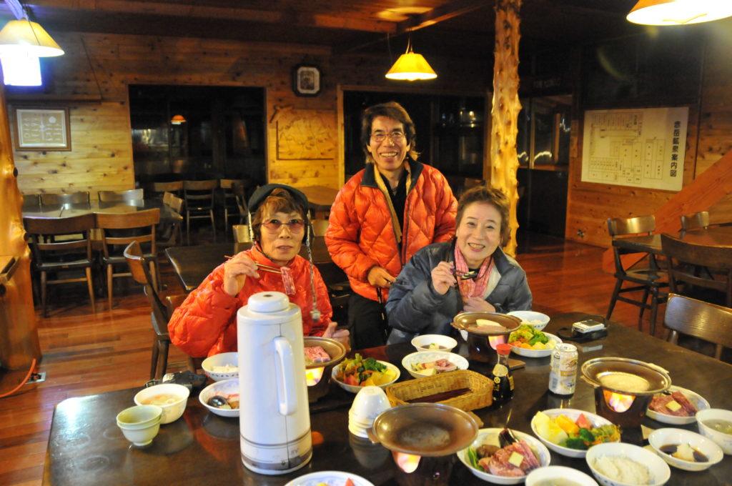 赤岳鉱泉での食事